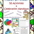 Happy Birthday: A Unique Celebration of You Birthday Activities