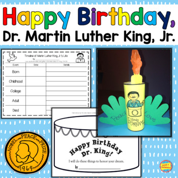 Happy Birthday, Dr. King! Reading, Writing, 100 Acts of Ki