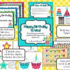 Happy Birthday to You! - Editable Birthday Kit