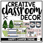 Happy Camper Classroom Theme Pack