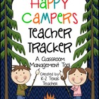 Happy Campers Teacher Tracker: A Camping Themed Classroom