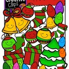Happy Christmas {Creative Clips Digital Clipart}