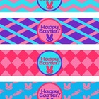 Happy Easter Water Bottle Labels