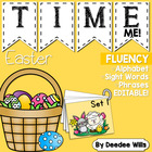 Happy Easter Time Me- Editable ABCm Word and Phrase Fluenc