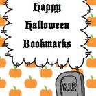 Happy Halloween Bookmarks