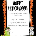 Happy Halloween: K/1 Math and Literacy Fun