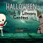 Happy Halloween Math and Literacy Centers