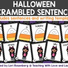 Happy Halloween Scrambled Sentences