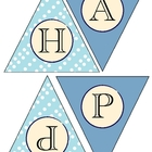 Happy Hanukkah Flag Banner