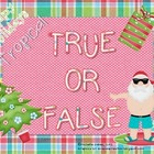 Happy Holiday: A Tropical True and False