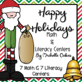 Happy Holiday: Math and Literacy Centers