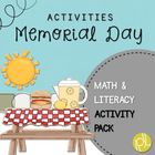 Happy Memorial Day Activity Pack!