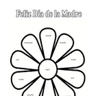 Happy Mother's Day:  Spanish Colors Worksheet