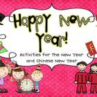 Happy New Year! Activities for the New Year &amp; Chinese New Year