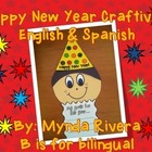 Happy New Year Craftivity (English & Spanish)