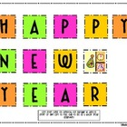 Happy New Year Making Words Activity