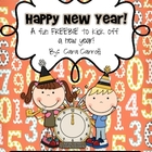 Happy New Year! {Math & Literacy Freebies}