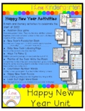 Happy New Year Math and Literacy Activities