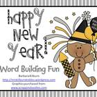 Happy New Year!  Word Building Fun