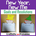 Happy New Year Writing Craftivity and Printables