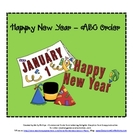 Happy New Year's ABC Order Activity