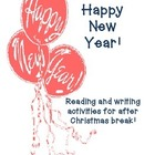 Happy New Year&#039;s Writing Activities for Upper Elementary!