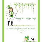 Happy St. Patty's Day!   St. Patrick's Day Math Centers &