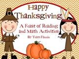 Happy Thanksgiving: A Feast of Reading and Math Activities
