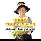 Happy Thanksgiving - Literacy and Math Activities