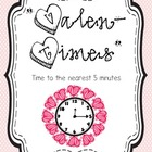 "Happy ""Valen-Time's"" Day---Valentine's Day Telling Time to"