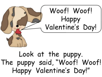 Happy Valentine's Day Kindergarten Shared Reading PowerPoint