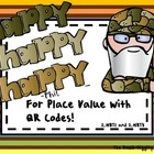 Happy,Happy, Happy For Place Value! (QR Code Edition)