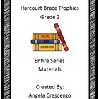 Harcourt Brace Trophies Second Grade complete series materials