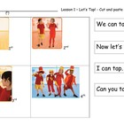 Harcourt First Grade - Cut and Paste Story Sequence