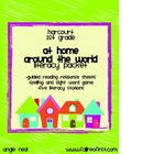 "Harcourt Trophies ""At Home Around the World"" Literacy Packet"