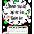 Harcourt Trophies Just For You Theme 1 Printables and Activities