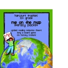 Harcourt Trophies &quot;Me On The Map&quot; - 1st Grade Literacy Packet