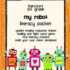 Harcourt Trophies &quot;My Robot&quot; Literacy Packet