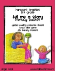 "Harcourt Trophies ""Tell Me A Story"" Literacy Packet"