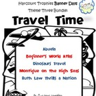 Harcourt Trophies Theme 3 Banner Days Printables and Activities