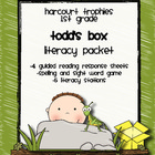 Harcourt Trophies &quot;Todd&#039;s Box&quot; Literacy Packet
