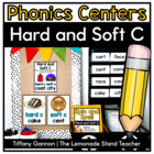 Hard and Soft Consonants Word Work Activities