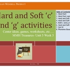 Hard and Soft c and g Activities