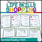 Hardware Shopping: Functional Literacy and Math Skills (Sp