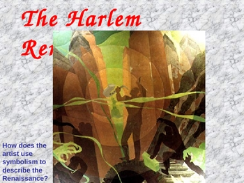 Harlem Renaissance Introduction Powerpoint