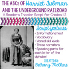 Harriet Tubman &amp; The Underground Railroad: a Reader&#039;s Thea