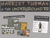 Harriet Tubman and the Underground Railroad (25-slide PPT)