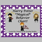 Harry Potter Behavior Chart