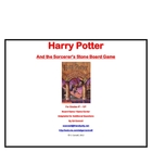 Harry Potter Board Game Book 1 The Sorcerer's Stone