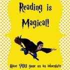 "Harry Potter ""Reading is Magical"" Freebie"